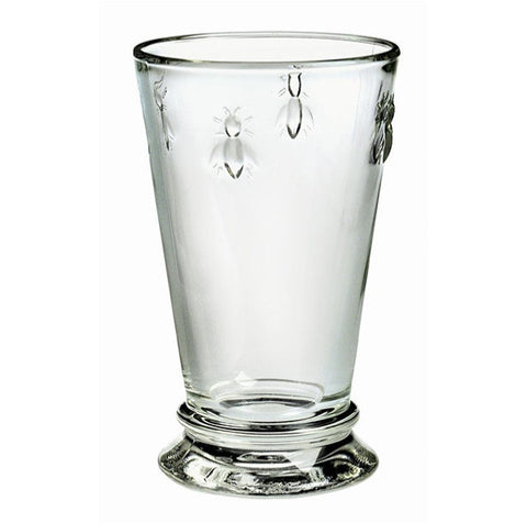 Bee Tall Drinking Glass - Set of 6