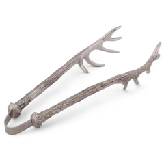 Pewter Antler Tongs