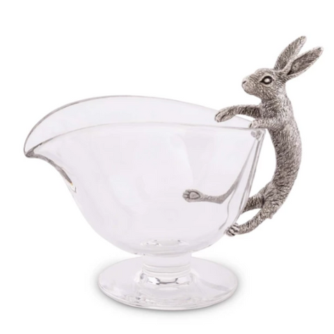Pewter Rabbit Gravy Boat