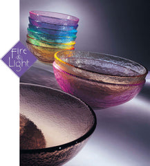 Recycled Glass Bowl - Assorted Colors - The Prince's Table  - 3