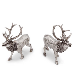 Pewter Deer Salt and Pepper Set