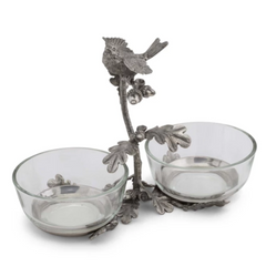Song Bird Double Condiment Bowl
