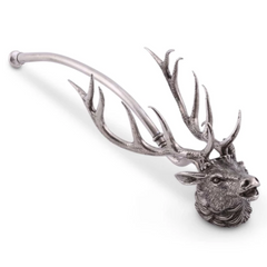 Pewter Elk Candle Snuffer