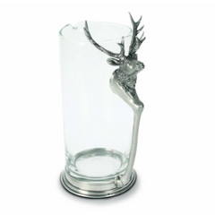 Deer Glass Pitcher