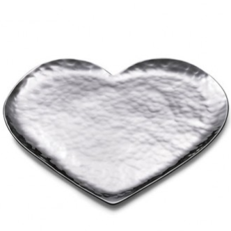 Amore Stainless Steel Heart Tray