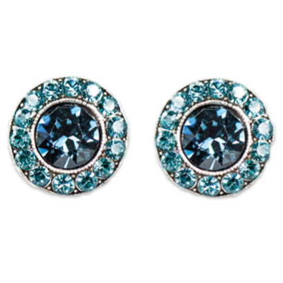 Indicolite Montana Stud Earrings