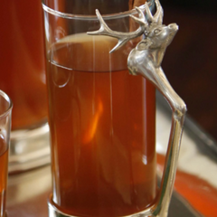 Tall Stag Glass