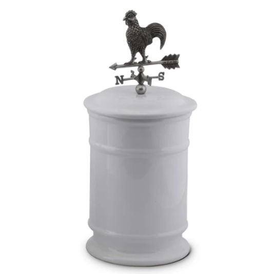 Rooster  Weathervane Canisters