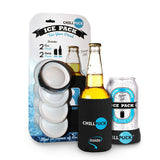 NEW! 4 Pack - 2 Can & 2 Bottle Pucks