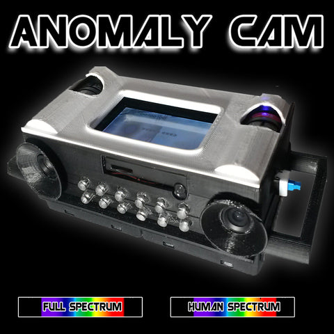 PARANOMALY CAM (Anomaly/Shadow Handheld Detecting Camera)