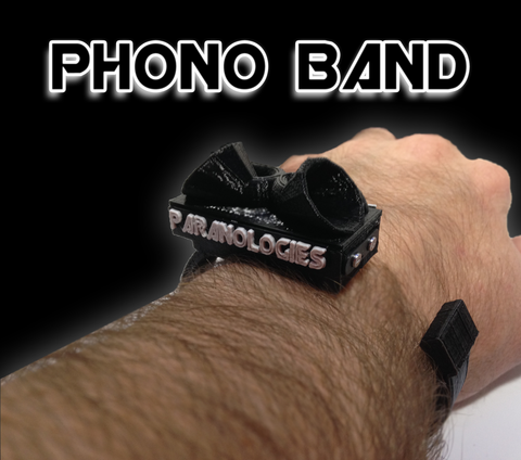 PHONO BAND (Wrist Worn Digital EVP Recorder)