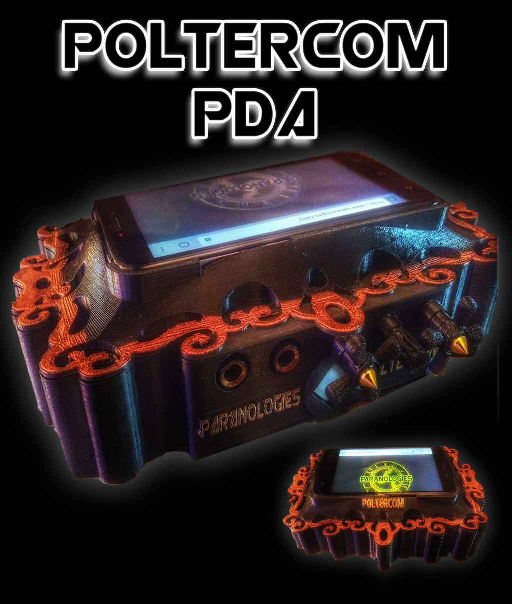 Poltercom PDA ITC Ghost Hunting App Assistant