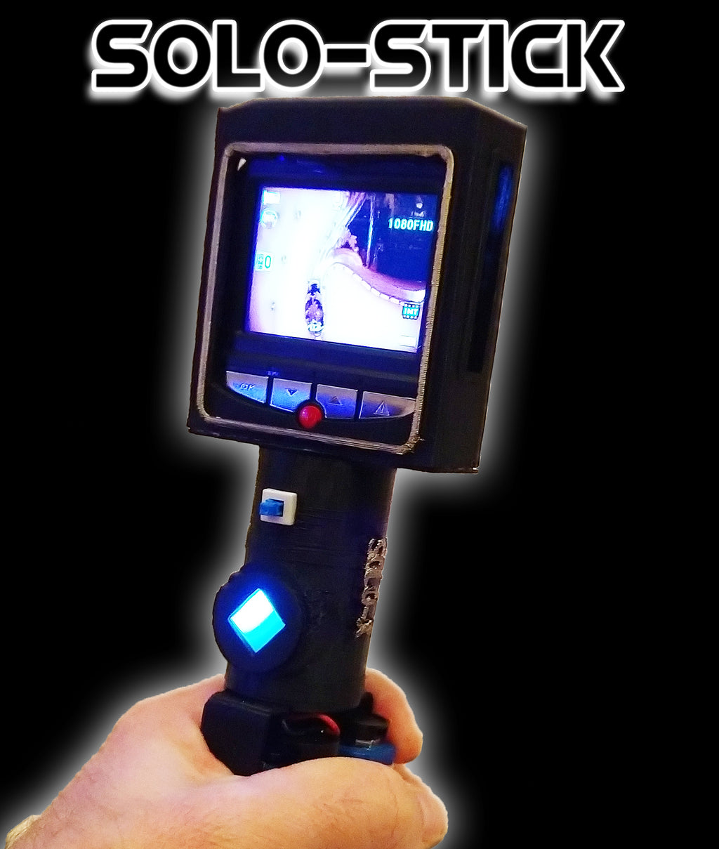 Solo-Stick Handheld Wide Spectrum Night Vision DVR Recorder