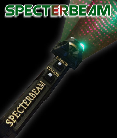 Specterbeam© All in one Flashlight/Lasergrid/Recorder