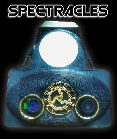 SPECTRACLES Augmented/Virtual Reality Style Ghost Hunting Headset