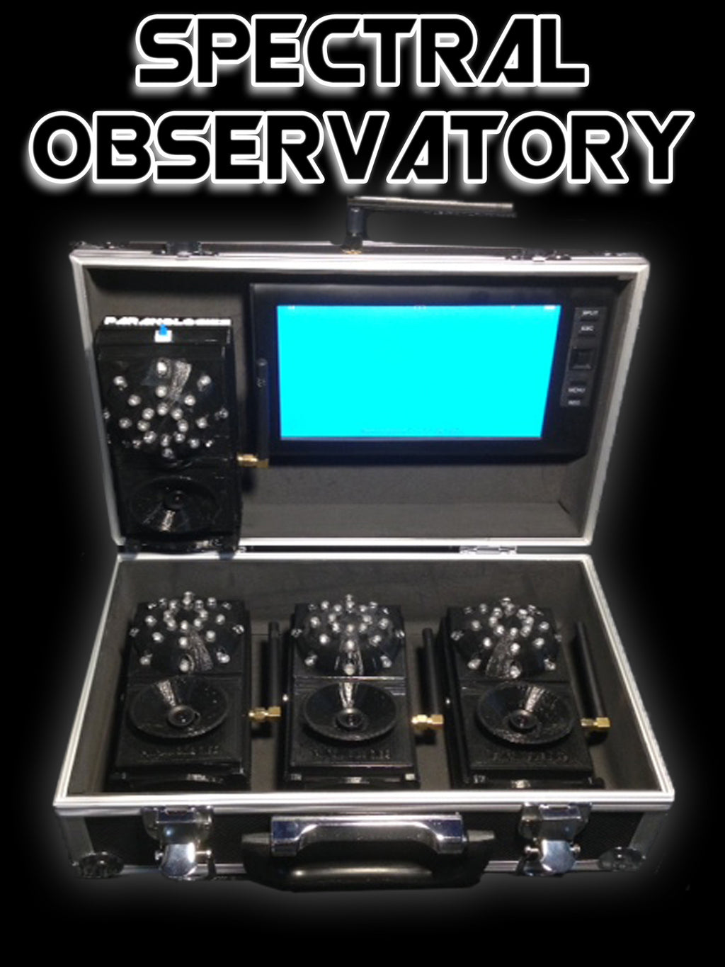 Wireless Spectral Observatory 4 Channel DVR System