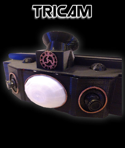 TRICAM (Triple Panoramic Handheld Dvr)