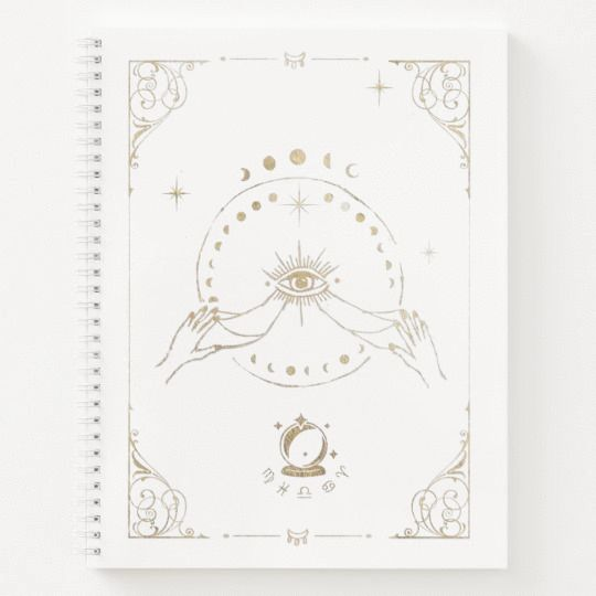 The Soleil Luna Spiral Notebook