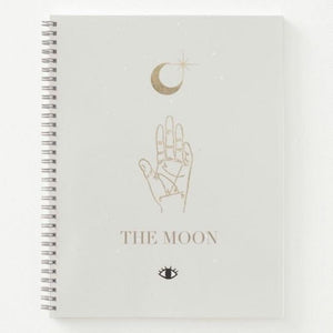 The Moon Tarot Spiral Notebook