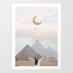 The Moonchild Art Print