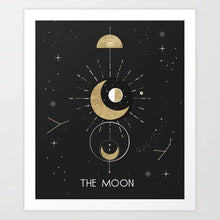 Load image into Gallery viewer, The Moon Art Print