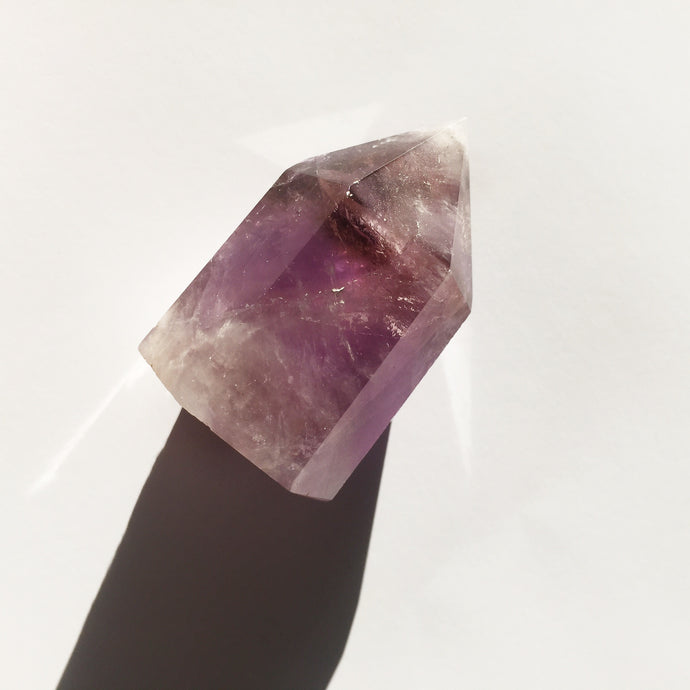 amethyst crystal point bohemian metaphysical crystal store