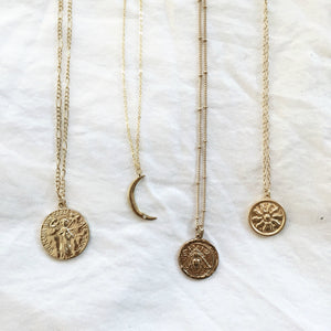 The Tiana Moon Necklace
