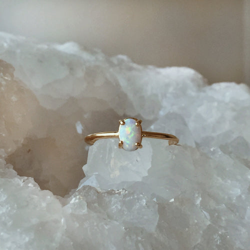The Jupiter Opal Ring