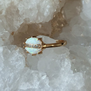 The Luna Opal Ring