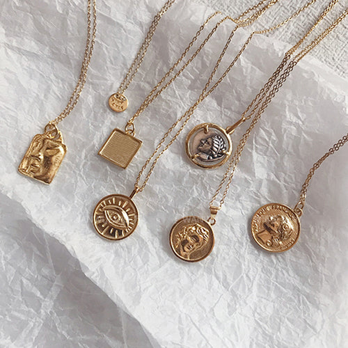 Coin Pendant Necklaces