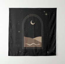 Load image into Gallery viewer, The Sahara Moon Tapestry