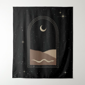 The Sahara Moon Tapestry