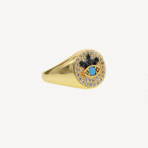 The Annika Evil Eye Ring