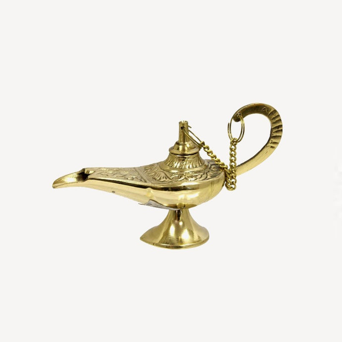 Egyptian Genie Lamp Incense Holder