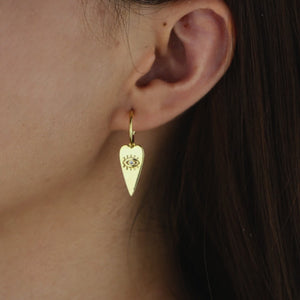 The Eye of Spades Earrings
