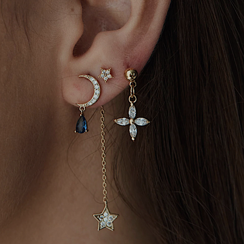 The Clair de Lune Earrings