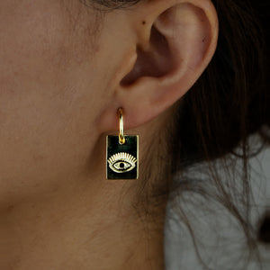 The Evil Eye Tarot Earrings
