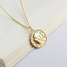 Load image into Gallery viewer, The Chimera Sun and Moon Necklace