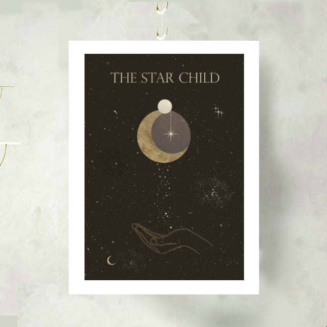 The Star Child Art Print
