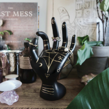 Load image into Gallery viewer, Palmistry Hand Ring Holder