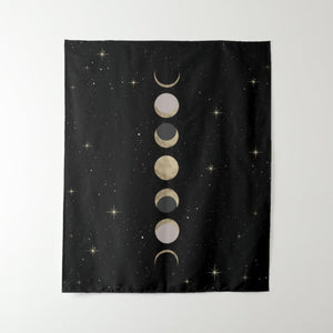 Phases of the Moon Tapestry