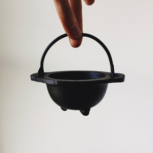 Mini Cast Iron Cauldron