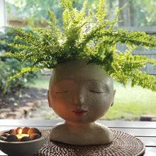 Load image into Gallery viewer, Lady of the Forest Head Planter