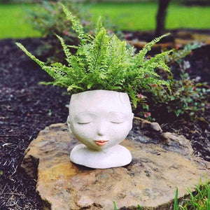 Lady of the Forest Head Planter