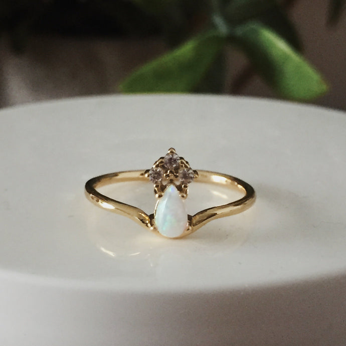 The Lily-Rose Opal Ring
