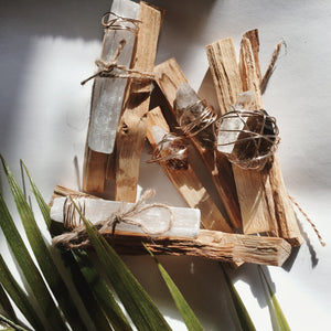 Palo Santo Crystal Kit