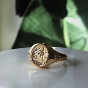 The Celestial Moon Ring