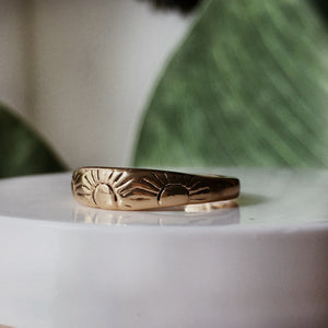 The Sunburst Ring