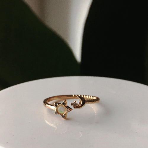 The Starcrossed Wrap Ring