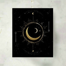 Load image into Gallery viewer, Moon Phase Time Turner Art Print